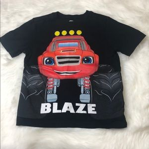 4T Blaze and the Monster Machines Boys tee shirt